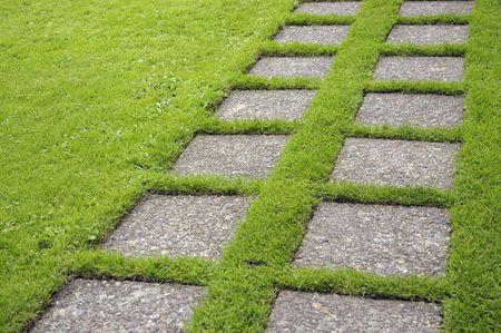 Concrete Stepping Stones