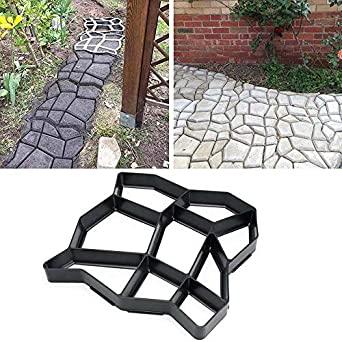 Amazon.com : Foonee 13.7''x13.7''x1.4'' DIY Concrete Stepping .