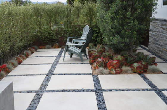 Concrete Stepping Stones - Bourget Br