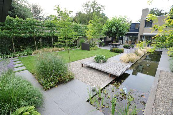 large contemporary garden design | adamchristopherdesign.co.uk .