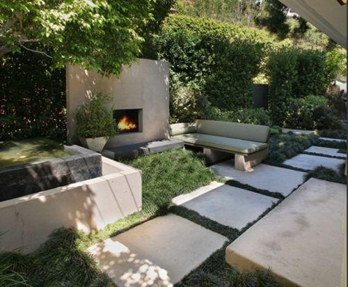 CA Modern w/ Lovely Outdoor Spaces | Modern garden, Garden design .