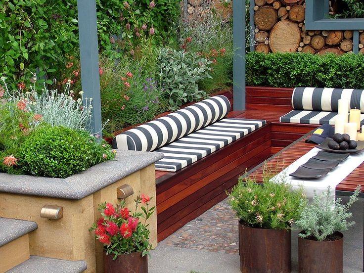Contemporary garden design: Ideas and Ti