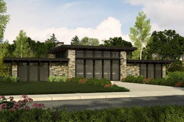Contemporary House Plans | Contemporary Home Designs & Floor Pla