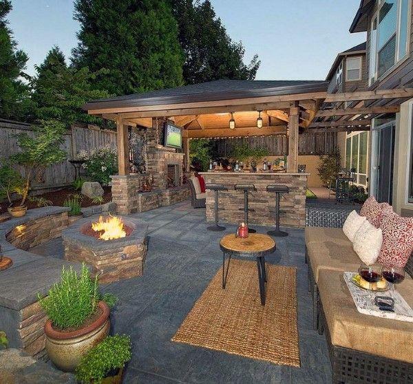 Cool Backyard Ideas Patio | Backyard, Backyard patio, Pat