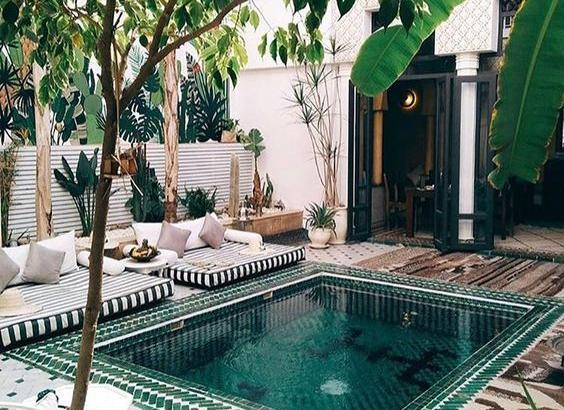 Cool Backyard Swimming Pool ide
