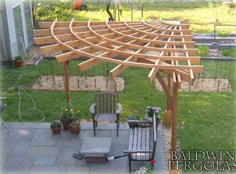 25 Beautifully Inspiring DIY Backyard Pergola Designs For Outdoor .