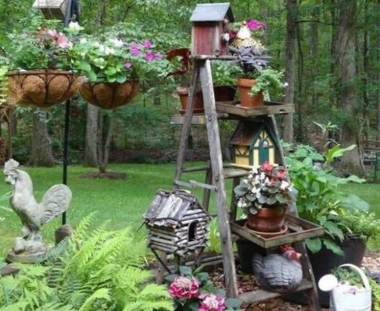 19 Easy DIY Cottage Garden Ideas for Your Beloved Gard