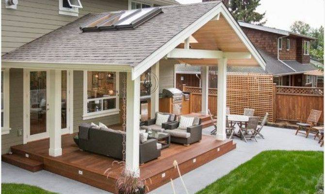 Covered Decks Patios Melissal Gill - House Plans | #1651