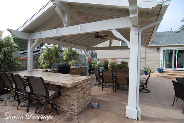 OUTDOOR BBQs – COVERED PATIOS FOR ALL TYPES OF WEATHER – Larsen .