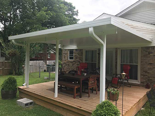 Custom-Built Patio Covers in Memphis,