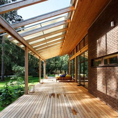 Partially Covered Patio Design Ideas, Pictures, Remodel and Decor .