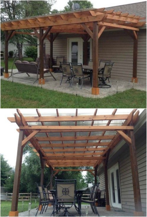 20 DIY Pergolas With Free Plans That You Can Make This Weekend .