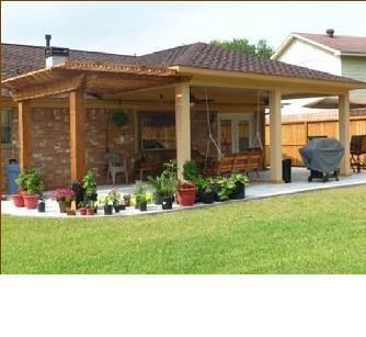 how to add a pergola next to an existing covered patio - Google .