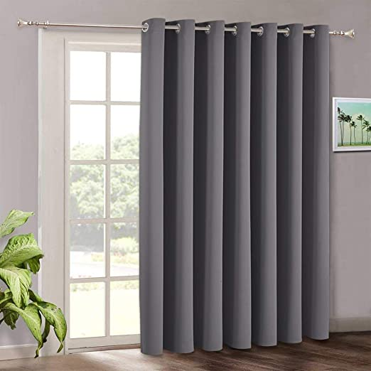 Amazon.com: Blackout Patio Door Curtains Bedroom - Home Decor .