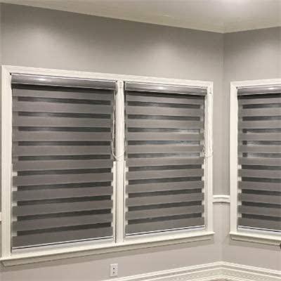 Amazon.com: Custom Size Basic Horizontal Zebra Blinds for Windows .