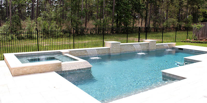 Pool Fence Ideas That Upgrade Your Backyard | Mitchell Custom Poo