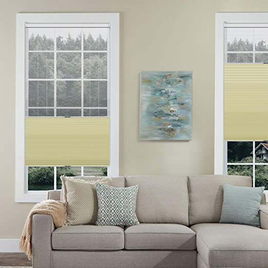 Amazon.com: Keego Day/Night Cellular Shades Cordless Sheer .
