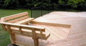 images of bench seats for decks | Floating Bench on Lower Level .