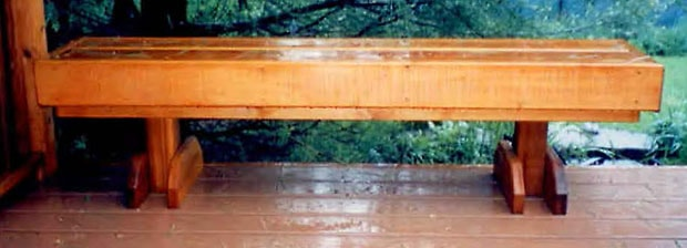 Benches: Wood Deck Bench Plan | DIY Deck Pla