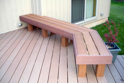 Building a House: Deck - Benches (2nd benc
