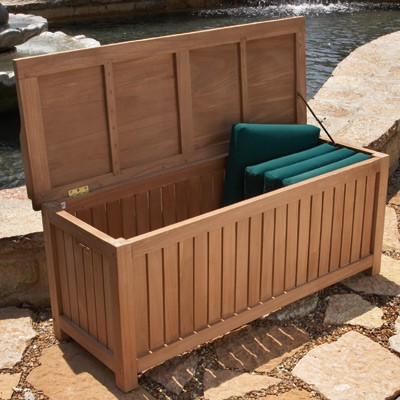 Teak Deck Box (Large) - from Sporty's Tool Sh
