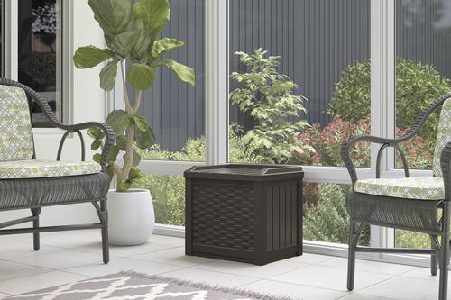 Suncast® 22 Gallon Resin Deck Box with Seat at Menards