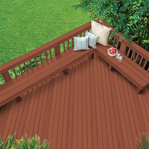 Exterior Wood Stain Colors - Winning Red - Wood Stain Colors From .