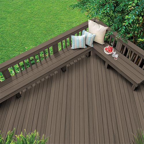 Exterior Wood Stain Colors - Wenge - Wood Stain Colors From .