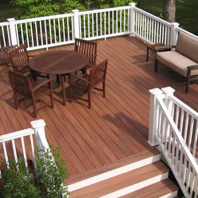 objective:home: April 2012 | Decks and porches, Deck colors .