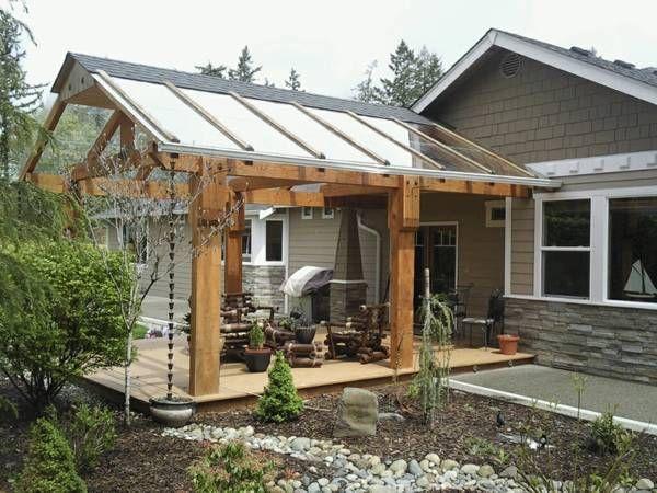 4 Deck covers, Decks, Porch cover, Timber Frame | Exterior house .