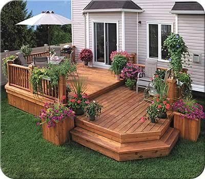 Decks | Products | Outdoor Improvements | Fence All | Ottawa, ON .