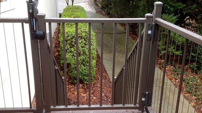 Deck Gates, Metal Gate Hinges & Gate Latches - DecksDire