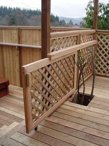 High Quality Sliding Deck Gate #3 Sliding Gate in 2020 | Deck gate .