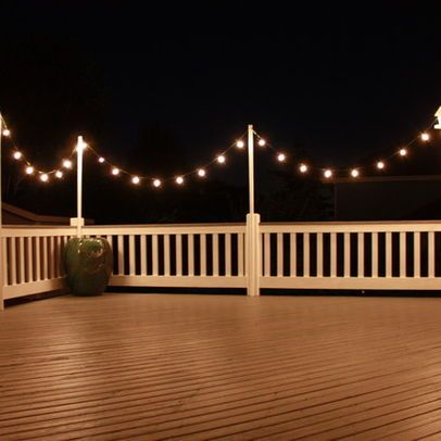 Deck Lighting Design Ideas, Pictures, Remodel and Decor | Outdoor .
