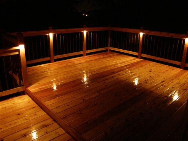 Deck Lights | Outdoor deck lighting, Led deck lighting, Outdoor .