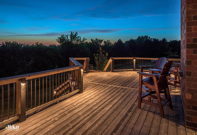 Outdoor Deck Lighting Ideas to Make it Look Great at Nig