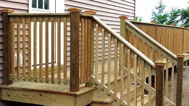 Wood Post Caps | Cedar, Hardwood, & More - DecksDire