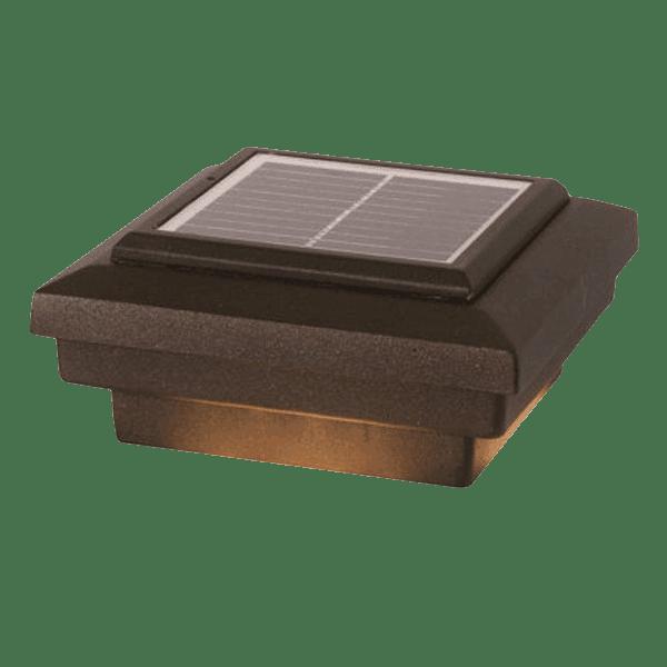 Savvy Solar Post Cap Light | Dekor | The Deck Sto