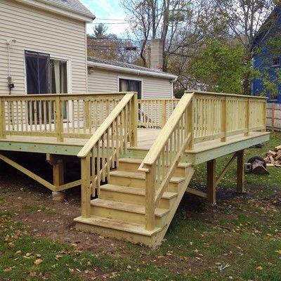 Wood Deck Railing Ideas, Pictures, & Designs | Page 11 | Decks.c