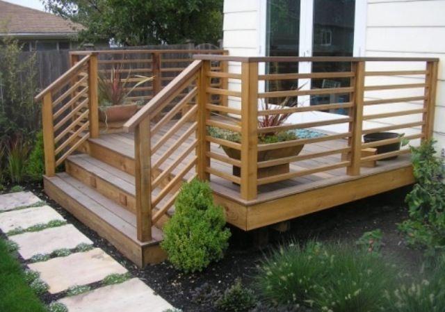 Deck railing | Patio deck designs, Deck railing design, Patio raili