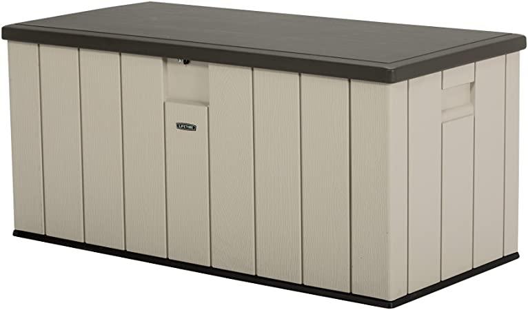 Amazon.com : LIFETIME 60254 Heavy-Duty Outdoor Storage Deck Box .