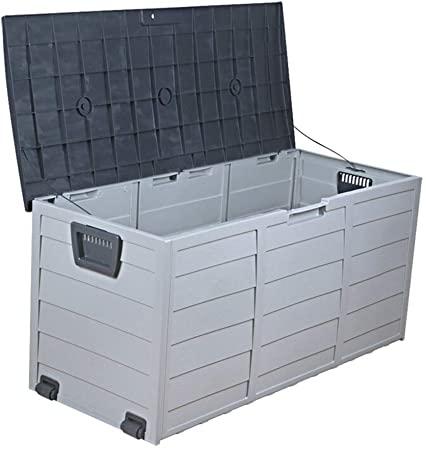 Amazon.com : Deck Storage Box Outdoor Outdoor Garden Tool Cabinet .