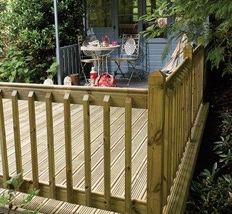 Decking Balustrade – kadinhayat.org in 2020 | Decks and porches .