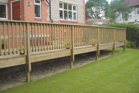 Decking balustrade – should I have one? in 2020 | Deck railing .