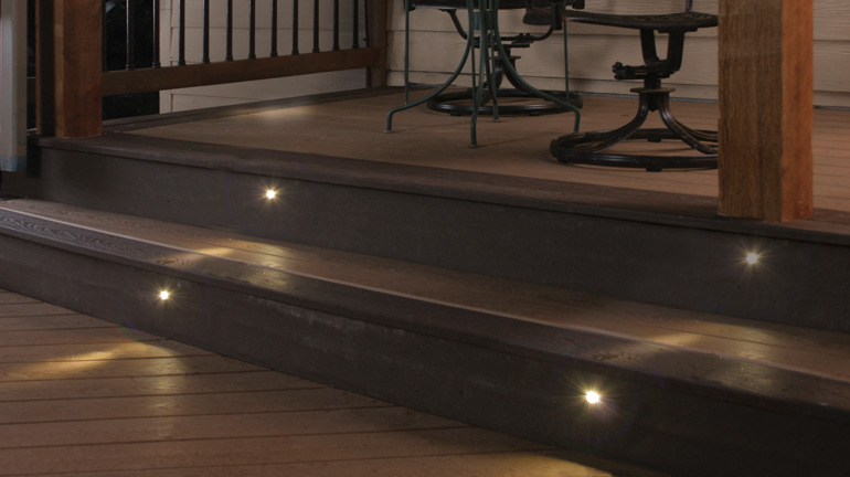 Stair Lighting and Deck Step Lighting - DecksDire