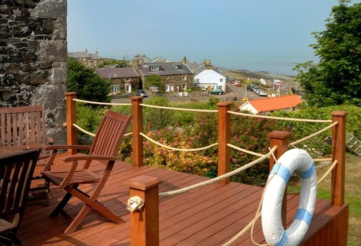 8 Fantastic Decking Rope Ideas - The Home Builders | Nautical deck .