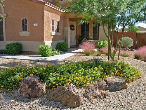 Cheap Backyard Desert Landscaping Ideas - http://backyardidea.net .