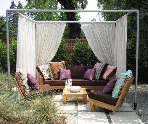 DIY Gazebo Ideas – Effortlessly Build Your Own Outdoor Summerhouse .