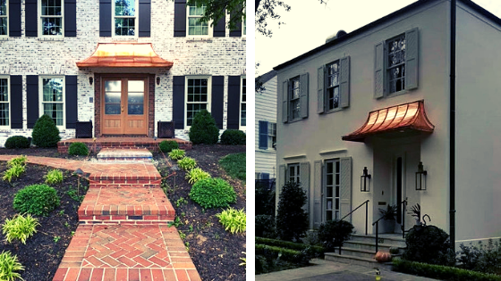 3 Reasons to Add Permanent Copper Home Window or Door Awnings to .
