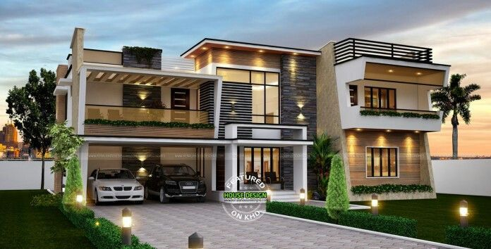 Modern Dream House Design   Contemporary house plans, Dream home .